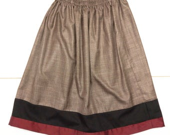 skirt with elastic band
