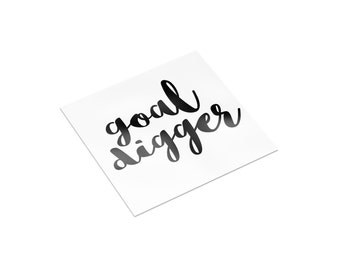 Goal Digger Vinyl Decal Sticker > DIY > Device, Cell Phone, Computer, Laptop, Glass
