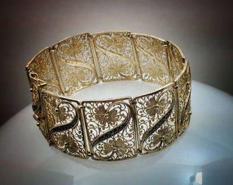 Vintage Belgam silver 825B bracelet