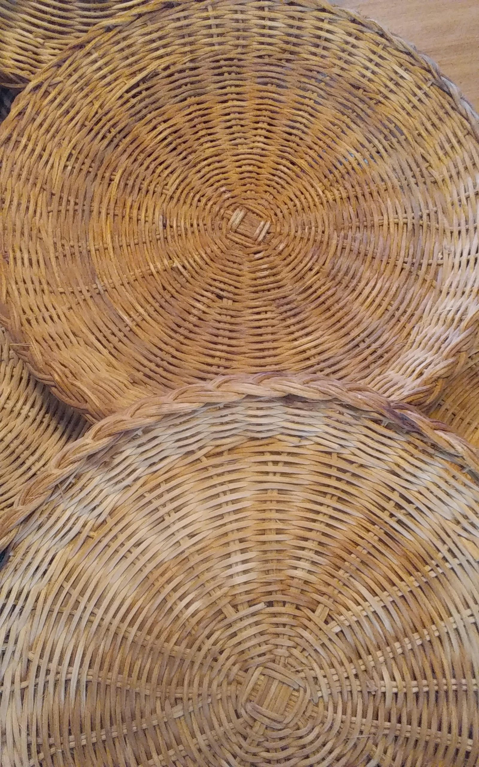 6 Vintage Wicker/Bamboo Paper Plate Holders Rich Natural Wicker Color Kitchenu0026Dining  sc 1 st  Shop Trendy Fashion Men u0026 Women online Shoes u0026 Boots Free Delivery ... & 6 Vintage Wicker/Bamboo Paper Plate Holders Rich Natural Wicker ...