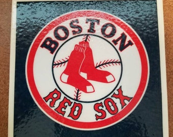 Red Sox Coasters