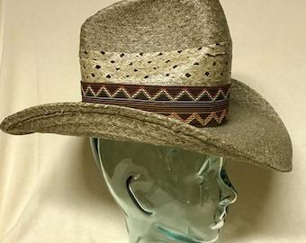 Vintage Stevens Western Hat - Size 6 7/8