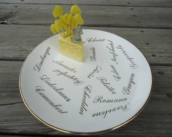 Cheese Plate - Carteret China Co.