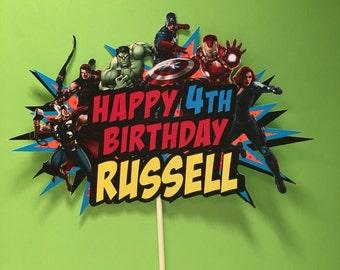 Avengers Cake Topper, Avengers Party Cake Topper, Justice League Cake Topper, Avengers Birthday Banner, Avengers Birthday, Cake Pals