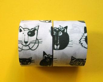 Fabric Ribbon [Funny CATs]