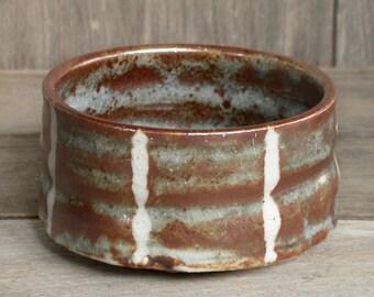 Japanese Ceramics, Ceramic Bowl, Handmade Ceramic Cup, Rustic, Brown Bowl, Shino Bowl, Japanese Pottery, Serving Bowl, Made in Japan.