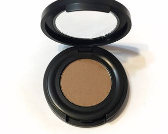 ORGANIC BAMBOO Pressed Mineral Eyeshadow - Natural Eye Color - Botanical Plant Makeup - Organic Gluten Free Vegan