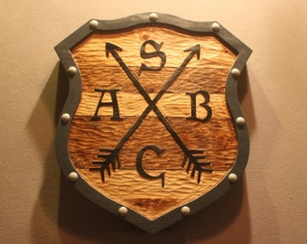 CUSTOM WOOD SIGNS | Carved wooden signs | Handmade signs | Home signs | House signs | Business signs | Rustic signs | shield signs