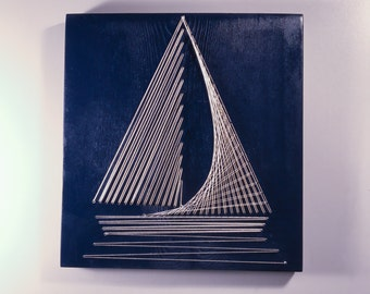 String Art Boat