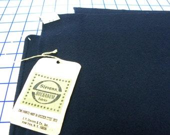 Wool Fabric - Navy