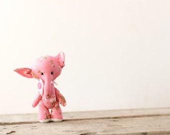 toy elephant gift child game romantic present fabric stuffed sewn animal toy