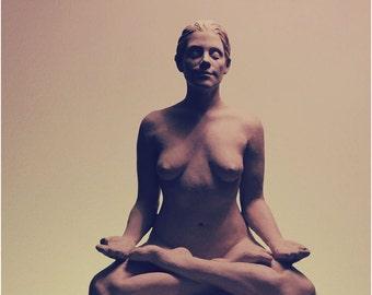 Bronze Meditation Statue