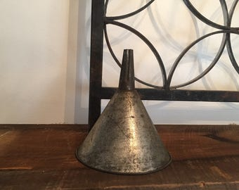 Metal funnel/Small metal funnel