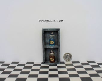 Dollhouse Miniature RPG Magic Fantasy Gaming Larping Health and Mana Potion Bottles in 1:12 scale