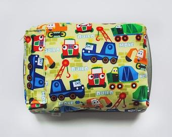 Trucks Kid's Lap Desk - Kid's Lap Desk - Kid's Lap Tray - Kid's Lap Pillow - Construction Toys - Travel Toys - Kid's Birthday Gift