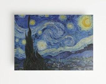 Vincent Van Gogh's The Starry Night (1889) Giclée Print