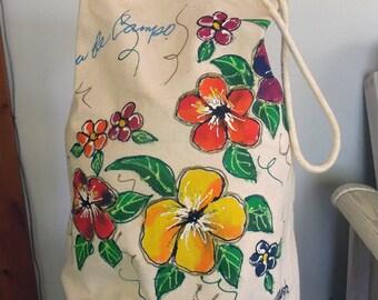 Casa de Campo Canvas Duffle Bag
