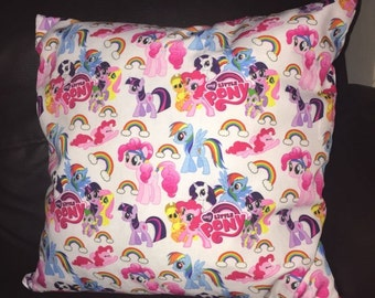 My Little Pony Cushion Cover Handmade Zipper To Open Machine Washable
