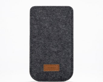 iPhone 5 Case - iPhone Sleeve - iPhone Cover - iPhone 5s Felt Cover - iPhone Grey Cover