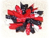Lady Bug Korker Bow, Minnie Mouse Korker Bow, Black & Red Bow, Mickey Mouse Korker Bow, Red Polka Dot Bow, Black Polka Dot Bow, Baby Bow