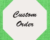 Custom listing for Diana Cross Infinity Set