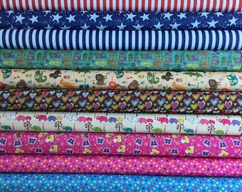 Waterproof Ripstop (wipe clean) Patterned Fabric sold by the 1/2 mt