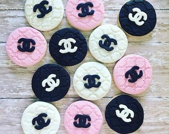 Chanel paris sugar cookies