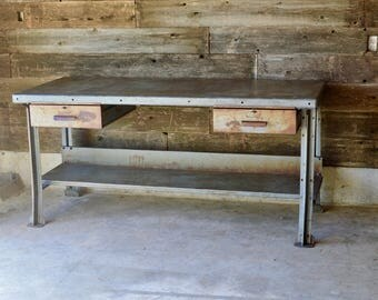 Vintage Industrial Workbench ***Local Pickup Only**