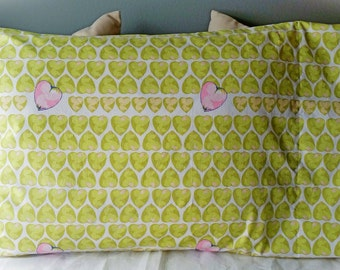 Candy Hearts Pillowcase