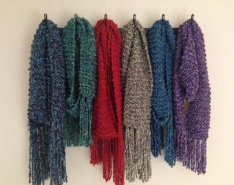SALE! Soft and Cozy Knit Scarves Choose Your Color