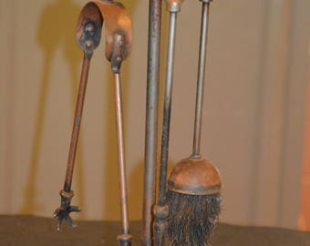 Antique Fireplace Tools