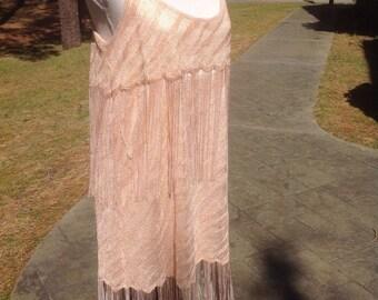 1920's Roaring Twenties Flapper Fringe Style Dress