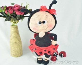 PATTERN  - Bonnie With Ladybug Costume