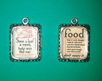 Vintage WWII posters in a charm!