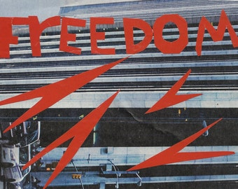 Art Policy no.9 - when people have real freedom they do not need violent protest