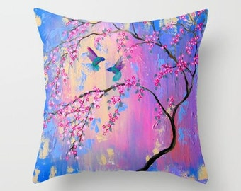 pink cushion case, pink cushion cover, pink cushion covers, pink cushions, pink pillow, pink pillows, pink and blue pillow, blue and pink