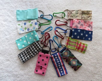 Chap Stick Case, Chapstick Holder, Lip Balm Holder, USB & Key Holder