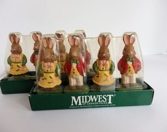 Bunny Candles by Midwest of Cannon Falls. Easter Decor. Easter Candles.