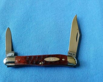 Case XX USA 1965-69 Bone Handle Pocket Knife