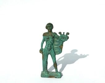Apollo God, Museum Replica, Greek Bronze Statue, Apollo Sculpture, Brass Statue, Brass Sculpture, Greek Brass Sculpture, Ancient  Greek God