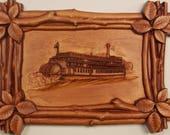 Vintage Steamboat Cnc Woo...