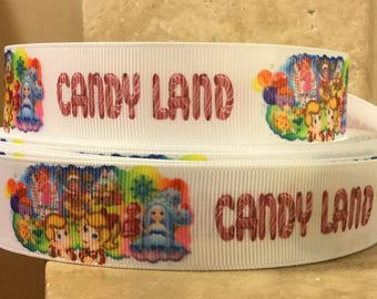 5 YDS Candy Land Ribbon