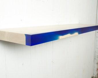 Resin and Wood Shelf