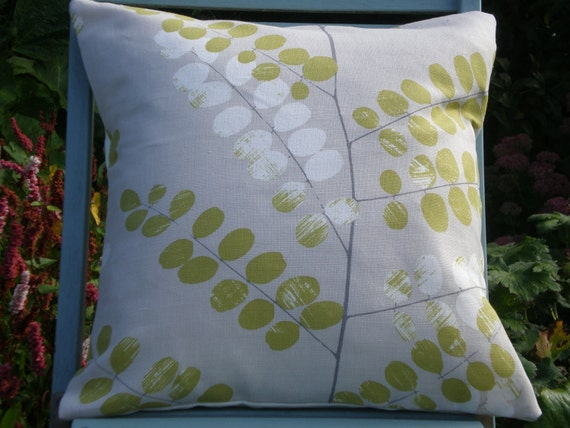 John Lewis 'Malin' Cushion Cover Fennel