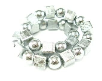 "Muonionalusta Meteorite Bracelet From Sweden - 39 Grams - 6.5"""