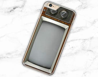 Vintage TV Set 6 Case iPhone Realistic 6s Case iPhone 7 Case Cool iPhone 5 se Case Unique Samsung Galaxy Case