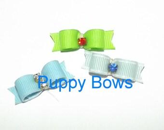 Puppy Dog snap hair clip