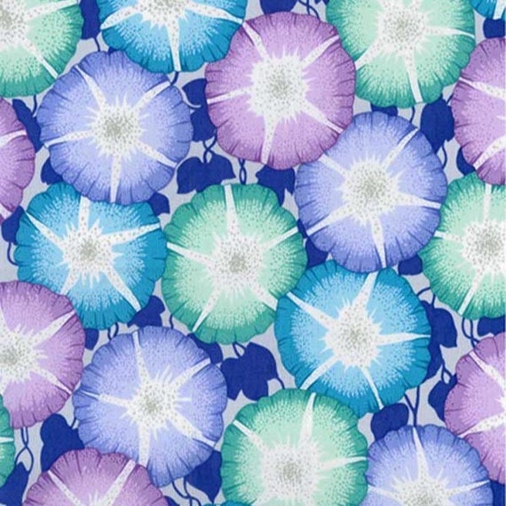 GLORY COOL pwpj085 Philip Jacobs for Kaffe Fassett Collective Sold in 1/2 yd increments