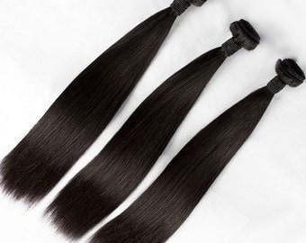 Brazilian Straight Virgin Human Hair Bundles