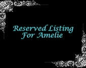 Final Payment Listing for Amelie ~ 3.89ct Cushion Cut Blue Moissanite, Loose
